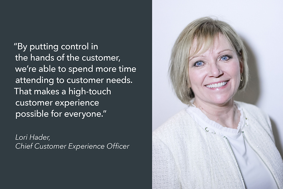 Lori Hader, CXO of FIDELITONE, explains how last mile delivery self-scheduling and tracking improves customer experience