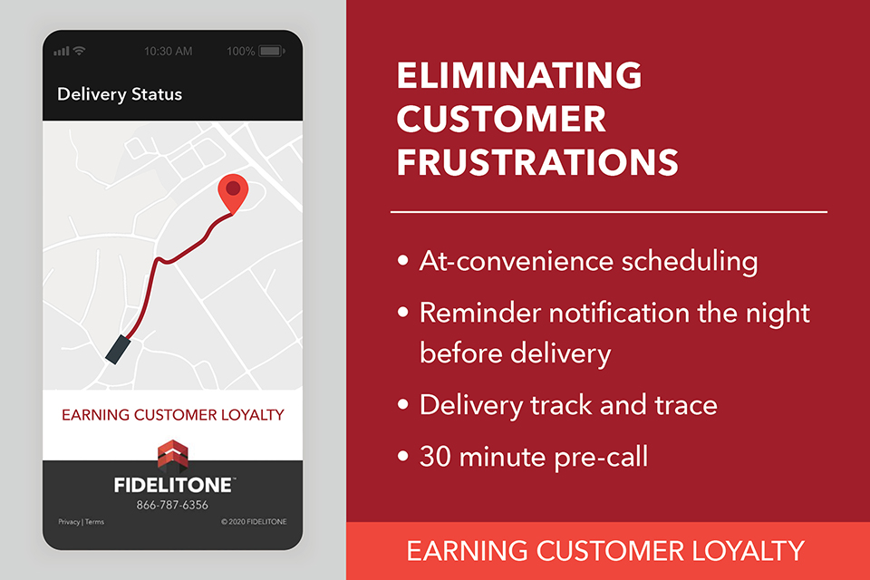 Eliminate customer frustrations with last mile delivery self-scheduling and tracking