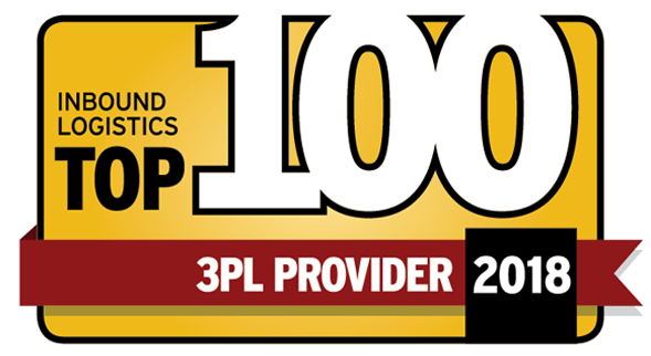 FIDELITONE Named 2018 Top 100 3PL Provider by Inbound Logistics